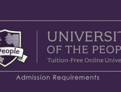 Admission Requirements for University Of The People – Undergraduate Degree Programs