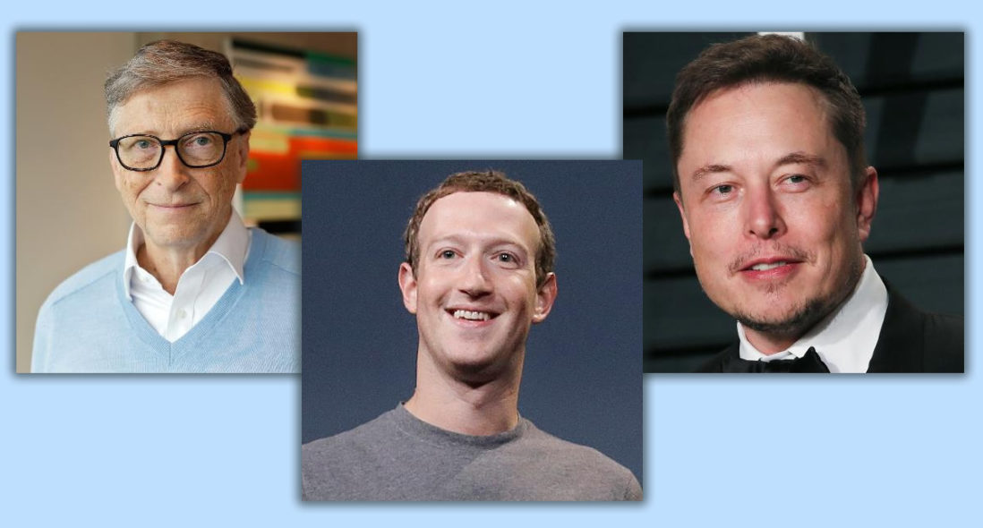 How well do you know the CEO's of some technology giants?