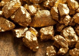 What other elements can gold be formed from?