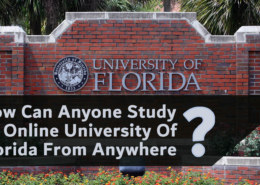 How Can Anyone Study At Online University Of Florida From Anywhere?